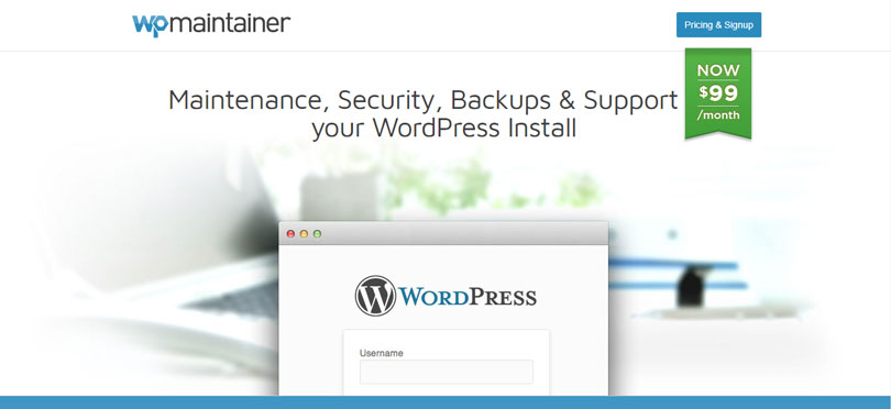 WP Maintainer - Maintenance, Security, Backups and Support for WordPress